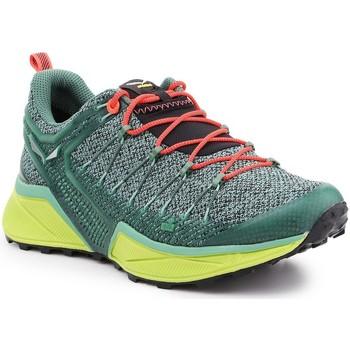 Topánky Ženy Bežecká a trailová obuv Salewa Trekking shoes  Ws Dropline 61369-5585 green