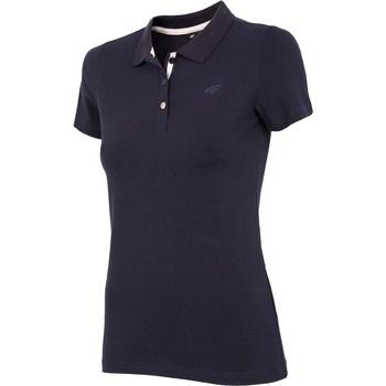 Oblečenie Ženy Tričká s krátkym rukávom 4F NOSH4 TSD008 Granat Tmavomodrá