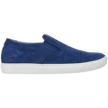 Topánky Muži Mokasíny Lacoste Alliot Slipon Modrá