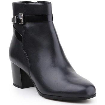 Topánky Ženy Čižmičky Geox D Petalus Čierna