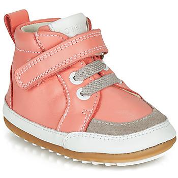 Topánky Dievčatá Polokozačky Robeez MIGOLO Ružová
