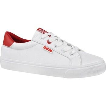 Topánky Ženy Nízke tenisky Big Star EE274311 Biela,Červená