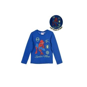 Oblečenie Chlapci Tričká s dlhým rukávom TEAM HEROES  SPIDERMAN Modrá
