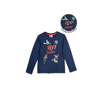 Oblečenie Chlapci Tričká s dlhým rukávom TEAM HEROES TOY STORY Námornícka modrá