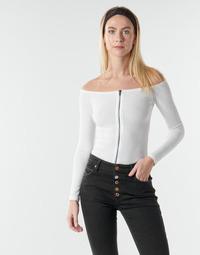 Oblečenie Ženy Blúzky Moony Mood NOAM Biela
