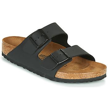 Topánky Šľapky Birkenstock ARIZONA LARGE FIT Čierna