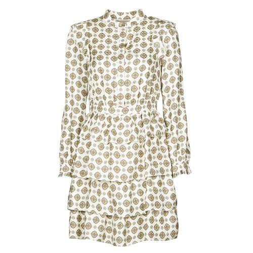 Oblečenie Ženy Krátke šaty MICHAEL Michael Kors LUX MEDLN PINDOT DRS Béžová