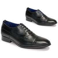 Topánky Muži Richelieu Azzaro LITCHI Čierna