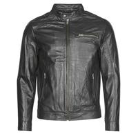 Oblečenie Muži Kožené bundy a syntetické bundy Selected SLHC01 Čierna