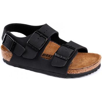 Topánky Deti Sandále Birkenstock Milano bf Čierna