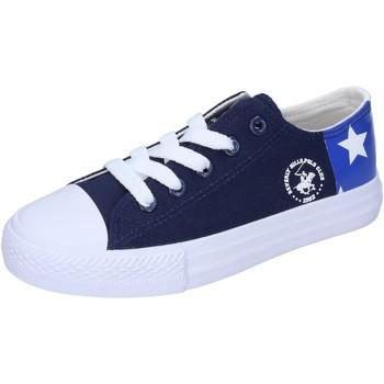 Topánky Chlapci Nízke tenisky Beverly Hills Polo Club sneakers tela Blu
