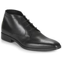 Topánky Muži Polokozačky Carlington NOMINAL Čierna