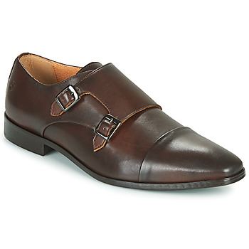 Topánky Muži Derbie Carlington NOMINUS Hnedá