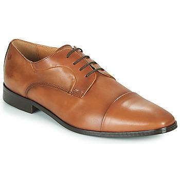 Topánky Muži Derbie Carlington NOMINEM Ťavia hnedá