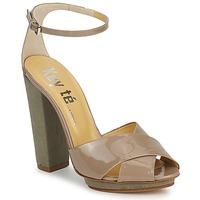 Topánky Ženy Sandále Keyté KRISTAL-26722-TAUPE-FLY-3 Hnedošedá