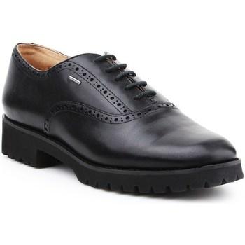Topánky Ženy Richelieu Geox D Ashleen Abx Čierna