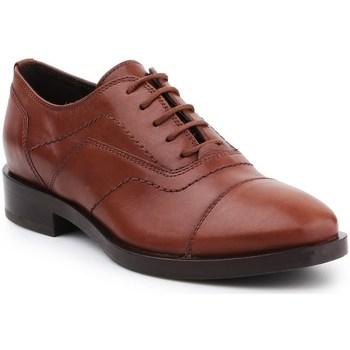 Topánky Ženy Richelieu Geox D Brogue G Hnedá