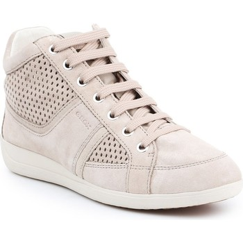 Topánky Ženy Členkové tenisky Geox D Myria B D7268B-07722-C6738 beige