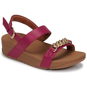 Topánky Ženy Sandále FitFlop LOTTIE CHAIN BACK-STRAP SANDALS Fuksiová
