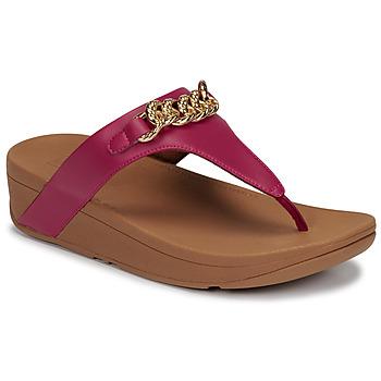 Topánky Ženy Sandále FitFlop LOTTIE CHAIN TOE-THONGS Fuksiová