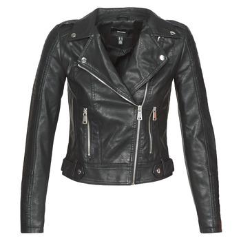 Oblečenie Ženy Kožené bundy a syntetické bundy Vero Moda VMKERRIULTRA Čierna