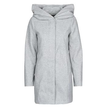 Oblečenie Ženy Kabáty Vero Moda VMDAFNEDORA Šedá