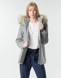 Oblečenie Ženy Kabáty Vero Moda VMCOLLARYORK Šedá