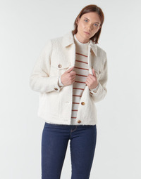 Oblečenie Ženy Saká a blejzre Vero Moda VMCOZY Krémová