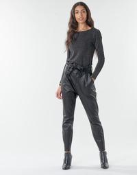 Oblečenie Ženy Nohavice Chinos a Carrot Vero Moda VMEVA Čierna