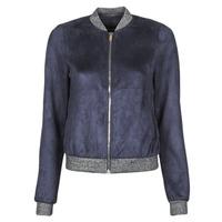 Oblečenie Ženy Kožené bundy a syntetické bundy Vero Moda VMSUMMERELISA Námornícka modrá