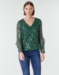 Oblečenie Ženy Blúzky Vero Moda VMFEANA Zelená