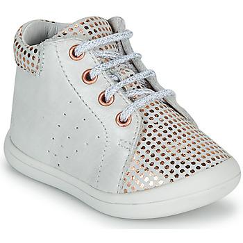 Topánky Dievčatá Členkové tenisky GBB NAHIA Biela