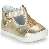 Topánky Dievčatá Balerínky a babies GBB ANINA Zlatá