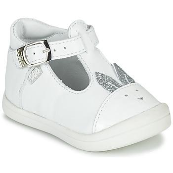 Topánky Dievčatá Balerínky a babies GBB ANINA Biela