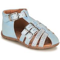 Topánky Dievčatá Sandále GBB RIVIERA Modrá