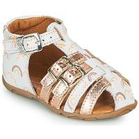Topánky Dievčatá Sandále GBB RIVIERA Ružová