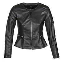 Oblečenie Ženy Kožené bundy a syntetické bundy Only ONLJENNY Čierna