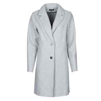 Oblečenie Ženy Kabáty Only ONLCARRIE BONDED Šedá