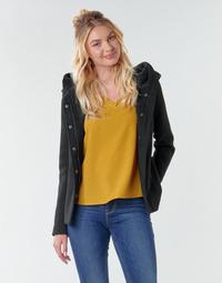 Oblečenie Ženy Kabáty Only ONLNEWSEDONA Čierna