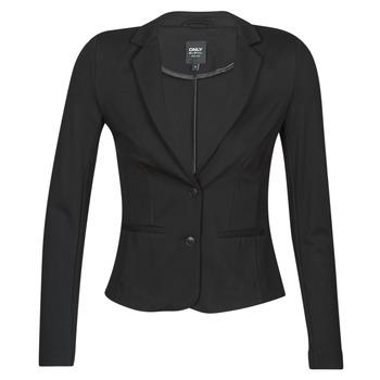 Oblečenie Ženy Saká a blejzre Only ONLPOPTRASH BLAZER Čierna