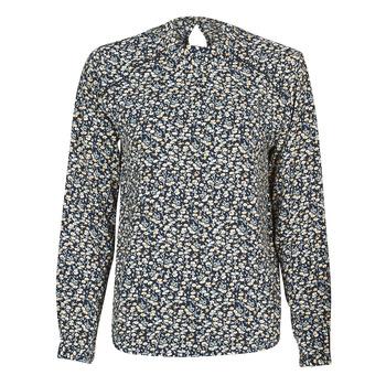 Oblečenie Ženy Blúzky Only ONLNEW MALLORY Námornícka modrá