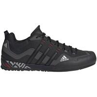 Topánky Muži Bežecká a trailová obuv adidas Originals Terrex Swift Solo Čierna