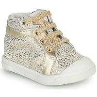 Topánky Dievčatá Členkové tenisky GBB NAVETTE Zlatá