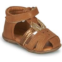 Topánky Dievčatá Sandále GBB FADIA Hnedá