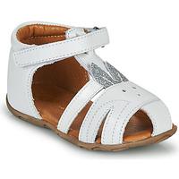Topánky Dievčatá Sandále GBB FADIA Biela