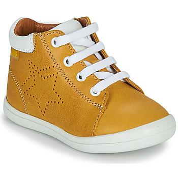 Topánky Chlapci Členkové tenisky GBB BAMBOU Žltá