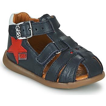 Topánky Chlapci Sandále GBB GARDOU Námornícka modrá