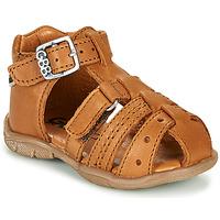 Topánky Chlapci Sandále GBB ARIGO Hnedá