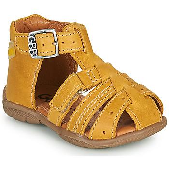 Topánky Chlapci Sandále GBB ARIGO Žltá
