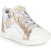 Topánky Dievčatá Členkové tenisky GBB VALA Biela